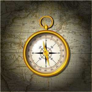 compass_on_map